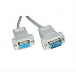 CABLE SERIE RS232 DB9/M-DB9/H 1.8m