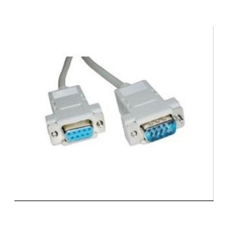 CABLE SERIE RS232 DB9/M-DB9/H 1.8M NANOCABLE