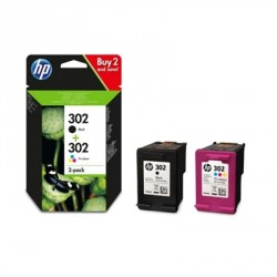 TINTA HP 302 PACK NEGRO/COLOR