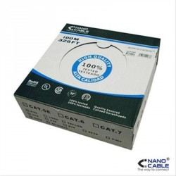 BOBINA 100M CAT.5E FLEXIBLE AWG24 NANOCABLE