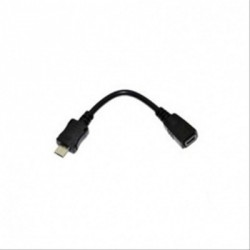 CABLE USB 5PIN Mini USB B/H - Micro USB B/M 10CM