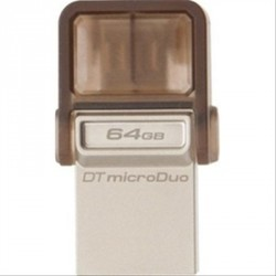 PEN DRIVE 64GB KINGSTON MICRODUO USB3.0