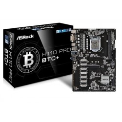 ASROCK H110 PRO BTC+ INTEL H110 LGA 1151 (SO·