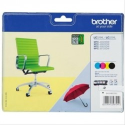 TINTA BROTHER LC29XL PACK NEGRO/TRICOLOR